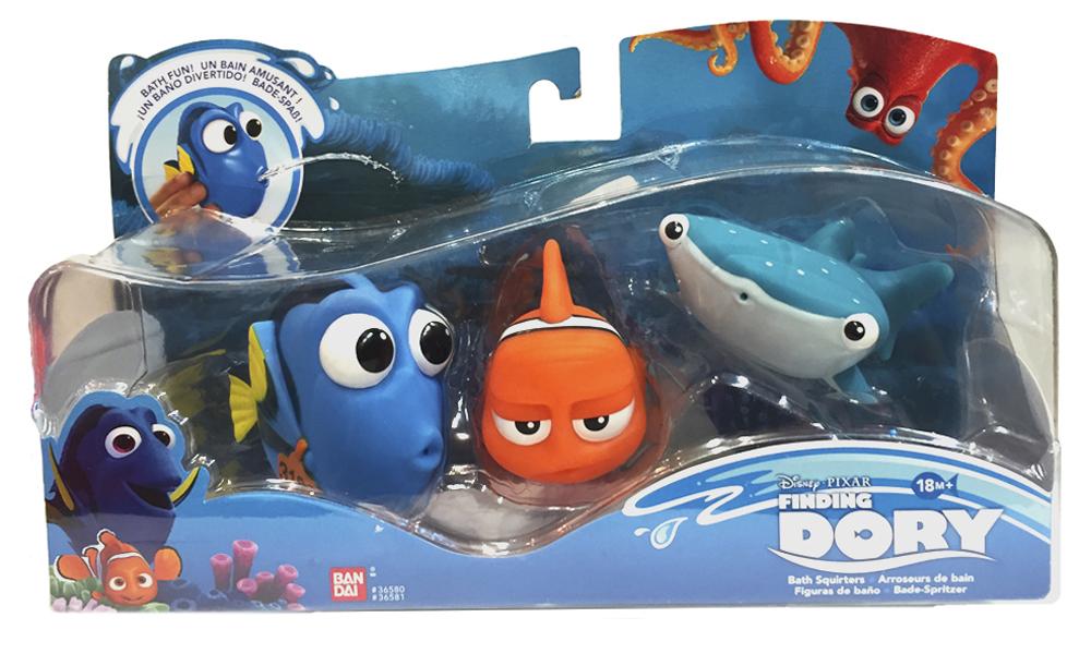 Set De Baño Para Souvenir:Set 3 Figuras de Baño Buscando a Dory