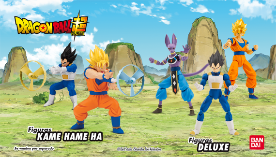 Juguetes Dragon Ball Super de Bandai