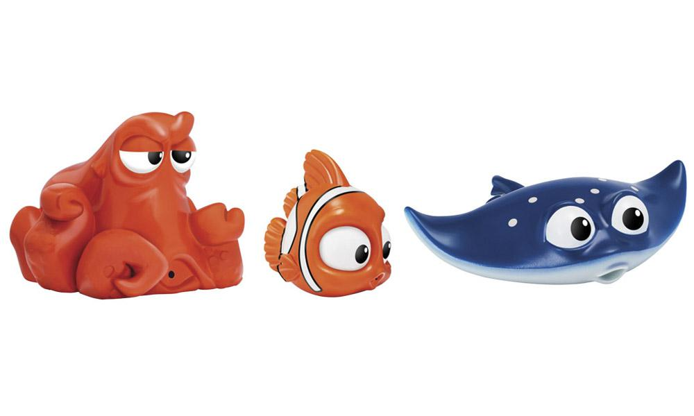 Set Juguetes De Baño Jane:Set 3 Figuras de Baño Buscando a Dory